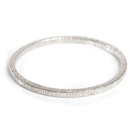 Bangle - Silver - Cofio - Remember