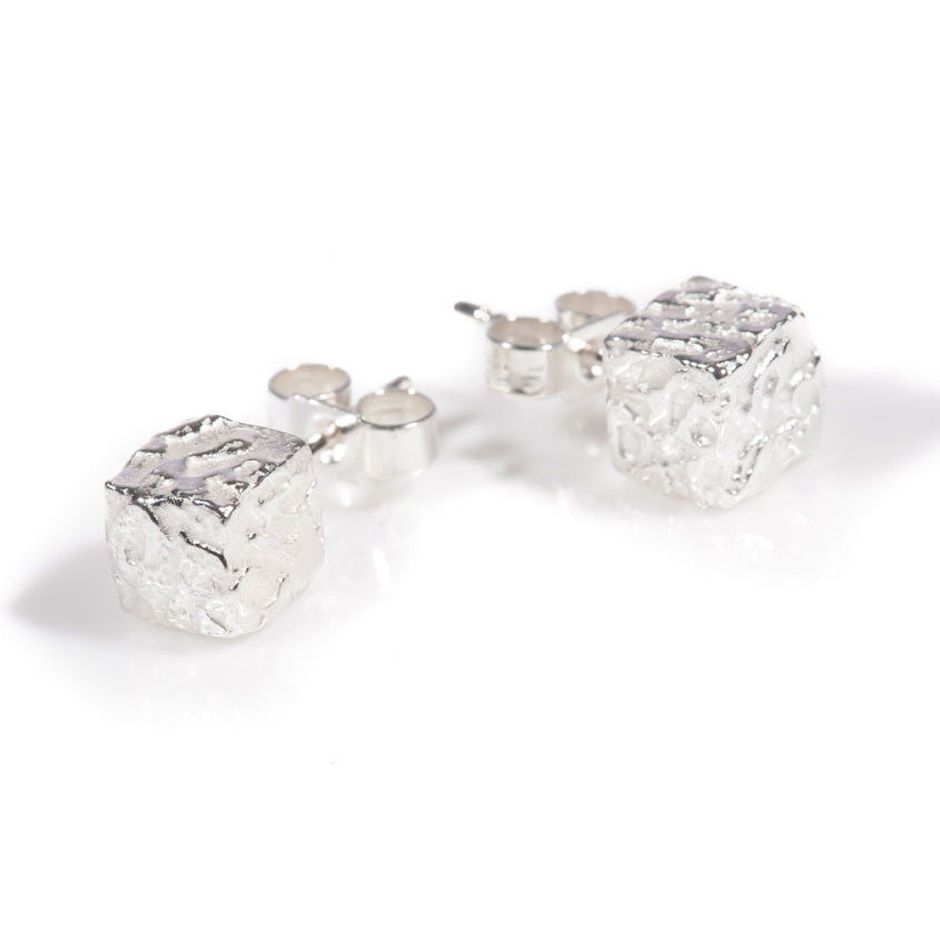 Earrings - Silver Studs - Cofio - Remember