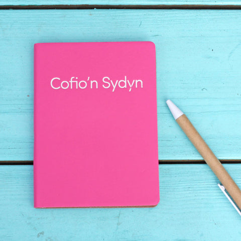 Note Book - Cofio'n Sydyn - Quick Reminders