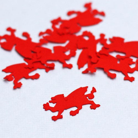 Confetti - Welsh - Dragon or Cwtch