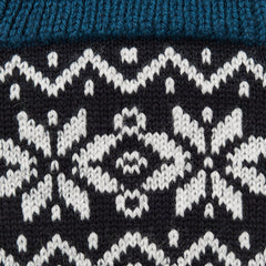 Corgi Socks - Fair Isle Welsh Winter - Wool - Mens - Blue