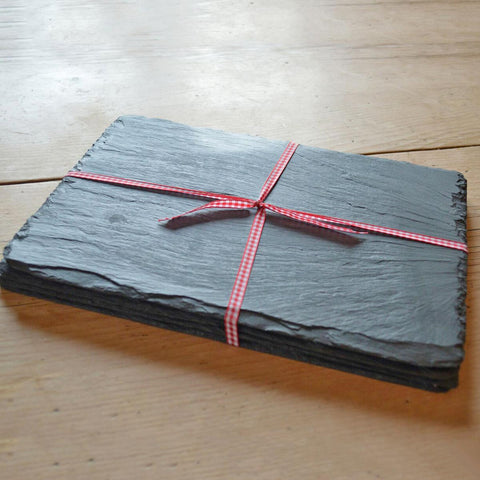 Placemats - Country style - Welsh Slate - Set of four-Kitchen-The Welsh Gift Shop