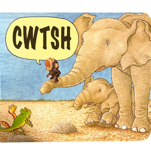 Cwtsh / Cwtch - Jez Alborough - Welsh Baby Book