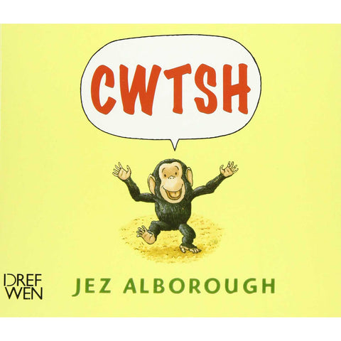 Cwtsh - Jez Alborough - Welsh Children's Book-The Welsh Gift Shop