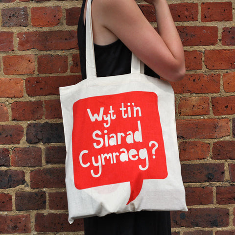 Bag / Tote - Wyt ti'n siarad Cymraeg? Do you speak Welsh?