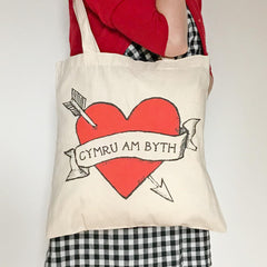 Bag / Tote - Cymru am Byth - Wales Forever-Bag-The Welsh Gift Shop