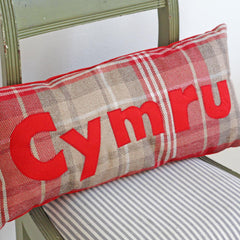 Cushion - Plaid - Cymru / Wales-Cushion-The Welsh Gift Shop