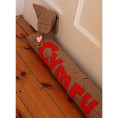 Draft Excluder - Dog - Cyrmu / Wales-Draft Excluder-The Welsh Gift Shop