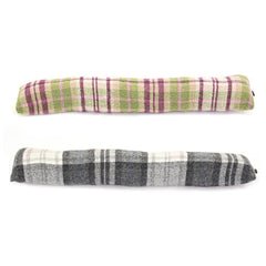 Draft Excluder - Pure New Wool - Made in Wales-The Welsh Gift Shop
