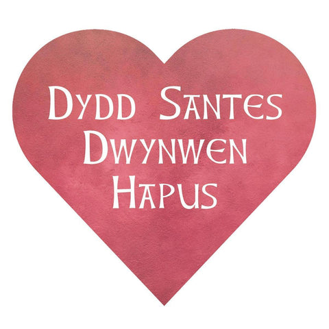 Card - Dydd Santes Dwynwen Hapus-Card-The Welsh Gift Shop