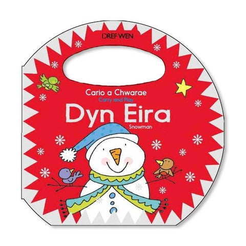 Cario a Chwarae - Dyn Eira / Carry and Play: Snowman-The Welsh Gift Shop