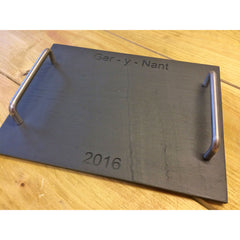 Cheese Board - Welsh Slate - Personalised
