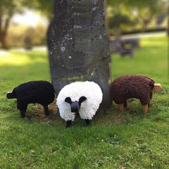 Foot Rest - Welsh Sheep - Large-Accessory-The Welsh Gift Shop