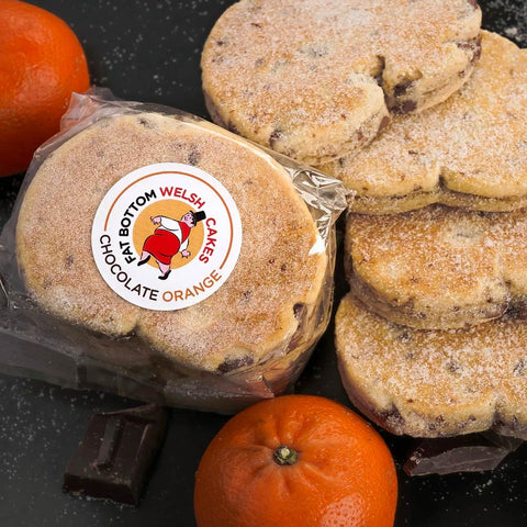Welsh Cakes - Fat Bottom - Chocolate Orange (Postage included)