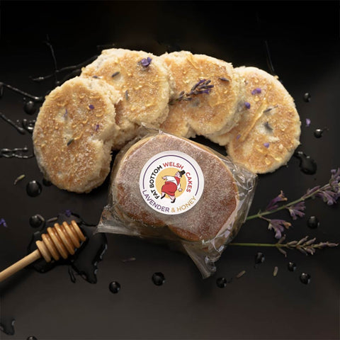 Welsh Cakes - Fat Bottom - Lavender & Honey (1st Class Postage Included)