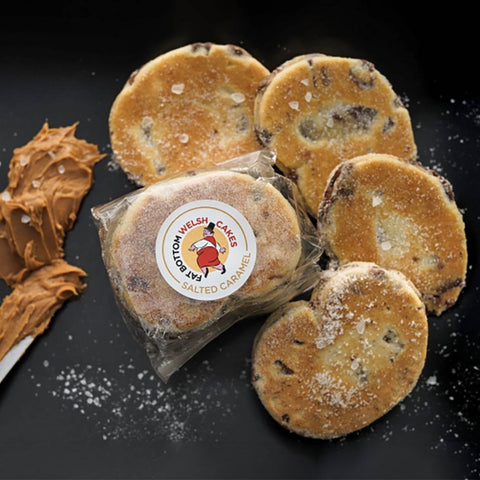 Welsh Cakes - Fat Bottom - Salted Caramel (1st Class Postage Included)