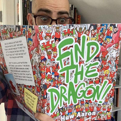 "Find the Dragon - ""The Welsh Where's Wally""-The Welsh Gift Shop"