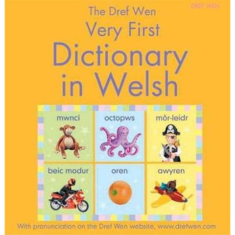 Very First Dictionary in Welsh - Dref Wen-The Welsh Gift Shop