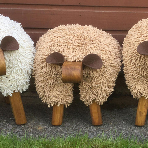 Foot Rest - Welsh Sheep - Small - Exclusive!-The Welsh Gift Shop