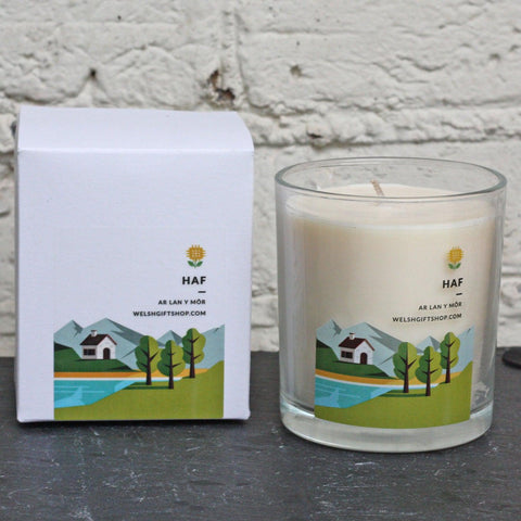 Votive Candle - Y Tymhorau - Haf - Summer-The Welsh Gift Shop