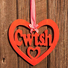 Decoration - Cwtch / Cwtsh - Cuddle - Wooden