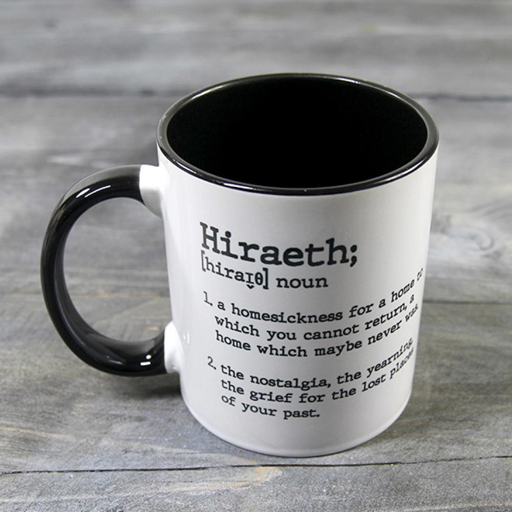 Mug - Dictionary Definition - Hiraeth