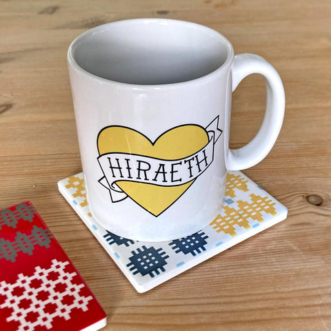 Mug - Vintage Tattoo Heart - Hiraeth