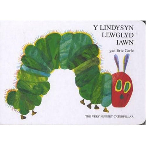 Lindysyn Llwglyd Iawn, Y / The Very Hungry Caterpillar-Book-The Welsh Gift Shop
