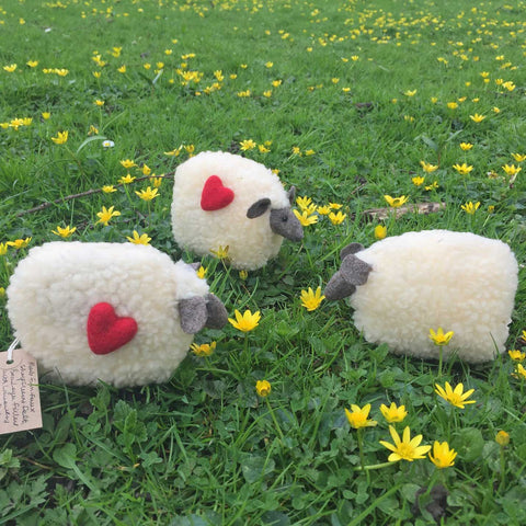 Sheep - Handmade in Wales - Lavender