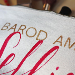 Make Up Bag - Barod am fy Selfie! Ready for my Selfie!-Bag-The Welsh Gift Shop