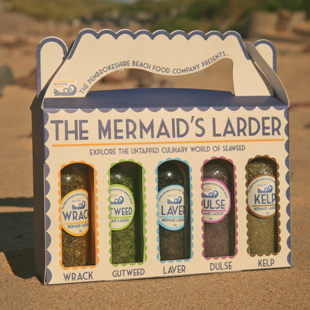Mermaid's Larder - Laver Seaweed Collection