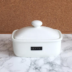 Butter Dish - Black Label - Butter - Menyn
