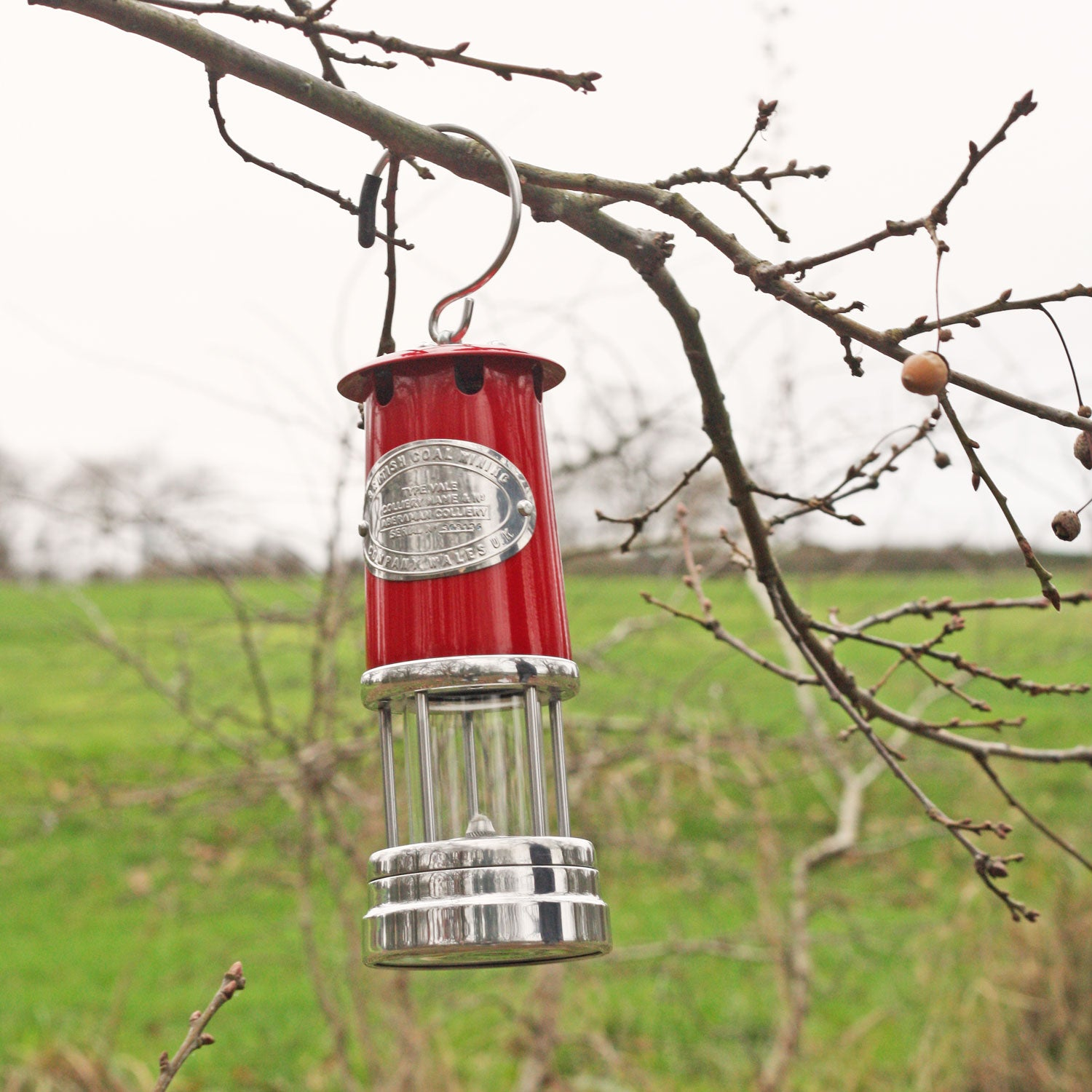 Miner's Lamp - Large - Red