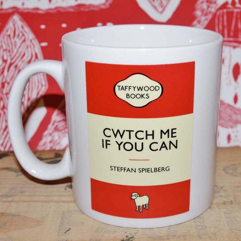 Mug - Taffywood - Cwtch Me if You Can