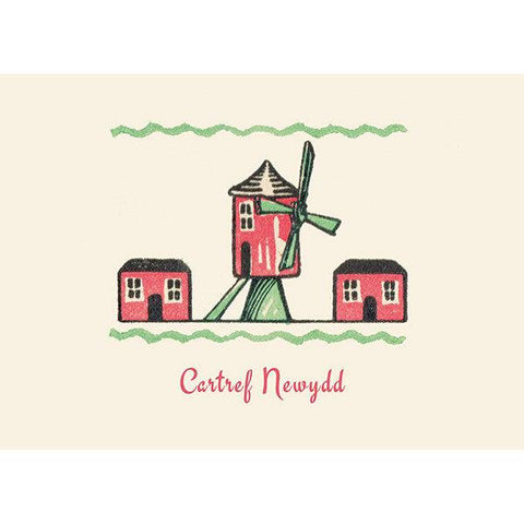 Card - Cartref Newydd - New Home-Card-The Welsh Gift Shop