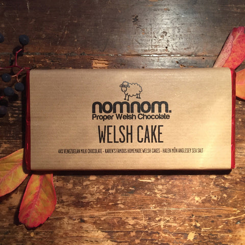 NomNom Chocolate - Made in Wales - Welsh Cakes