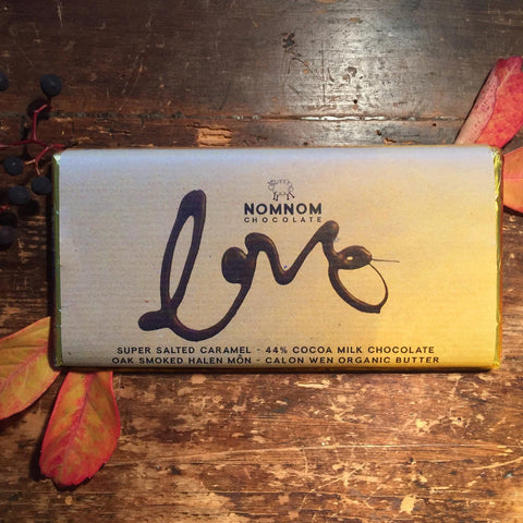 NomNom Chocolate - Made in Wales - Love