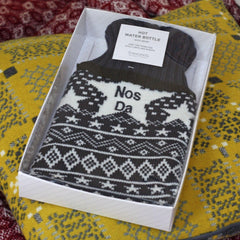 Hot Water Bottle - Good Night - Nos Da