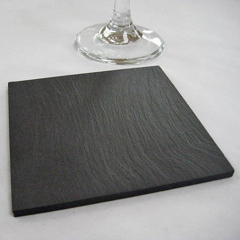 Coasters - Welsh Slate - Set of four-Kitchen-The Welsh Gift Shop