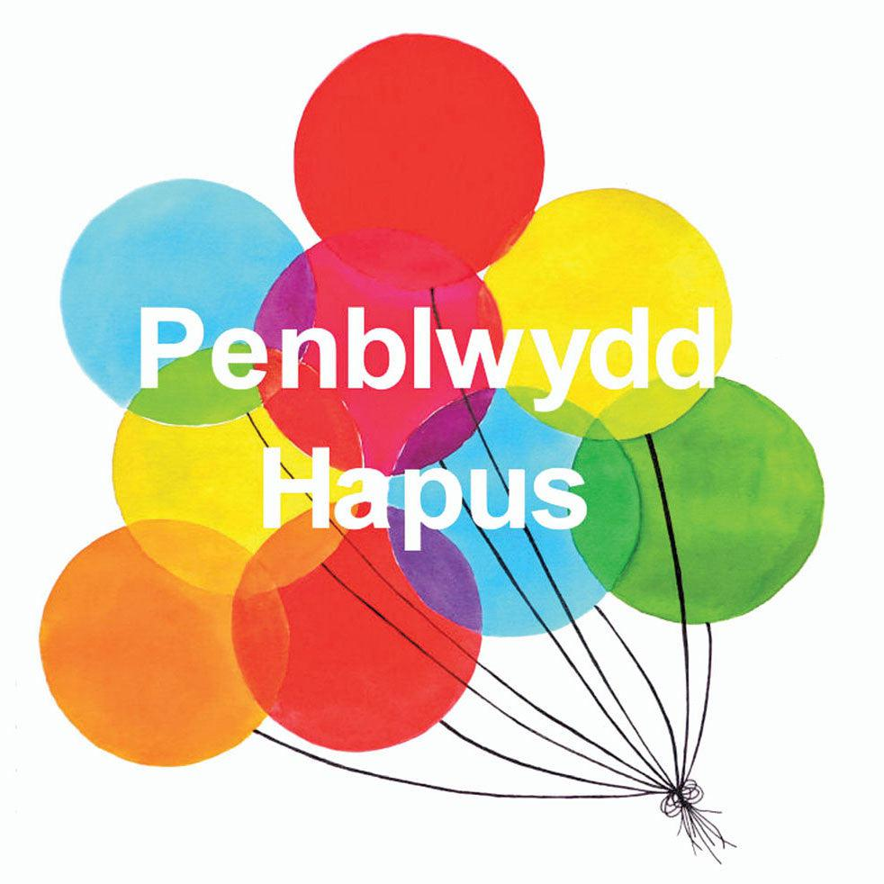 Card - Balloons - Penblwydd Hapus / Happy Birthday-Card-The Welsh Gift Shop