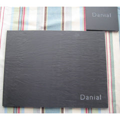 Place Mat - Welsh Slate - Personalised (Single)