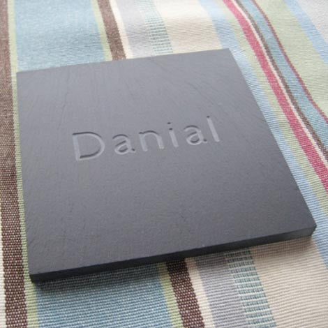 Coaster - Welsh Slate - Personalised
