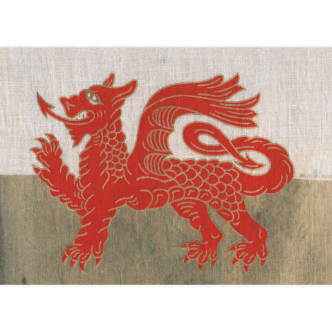 Poster / Print - Welsh Dragon Flag - A4