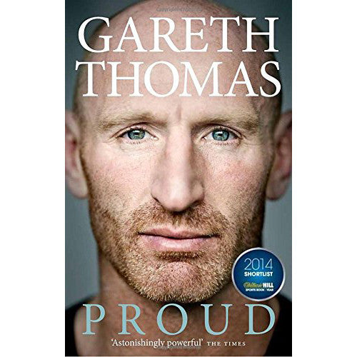 Proud: My Autobiography - Welsh Rugby - Gareth Thomas-Book-The Welsh Gift Shop