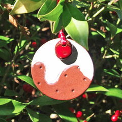 Christmas Pudding - Decoration - Handmade in Wales