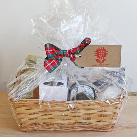 Gift Basket / Hamper -  Welsh Savoury Treats Set