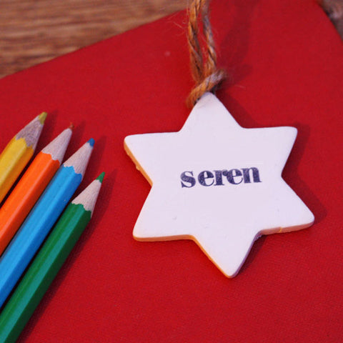 Star Decoration - Seren / Star