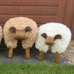 Foot Rest - Welsh Sheep - Standard-The Welsh Gift Shop