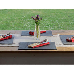 Place Mats - Welsh Slate - Set of Four / Six-Kitchen-The Welsh Gift Shop