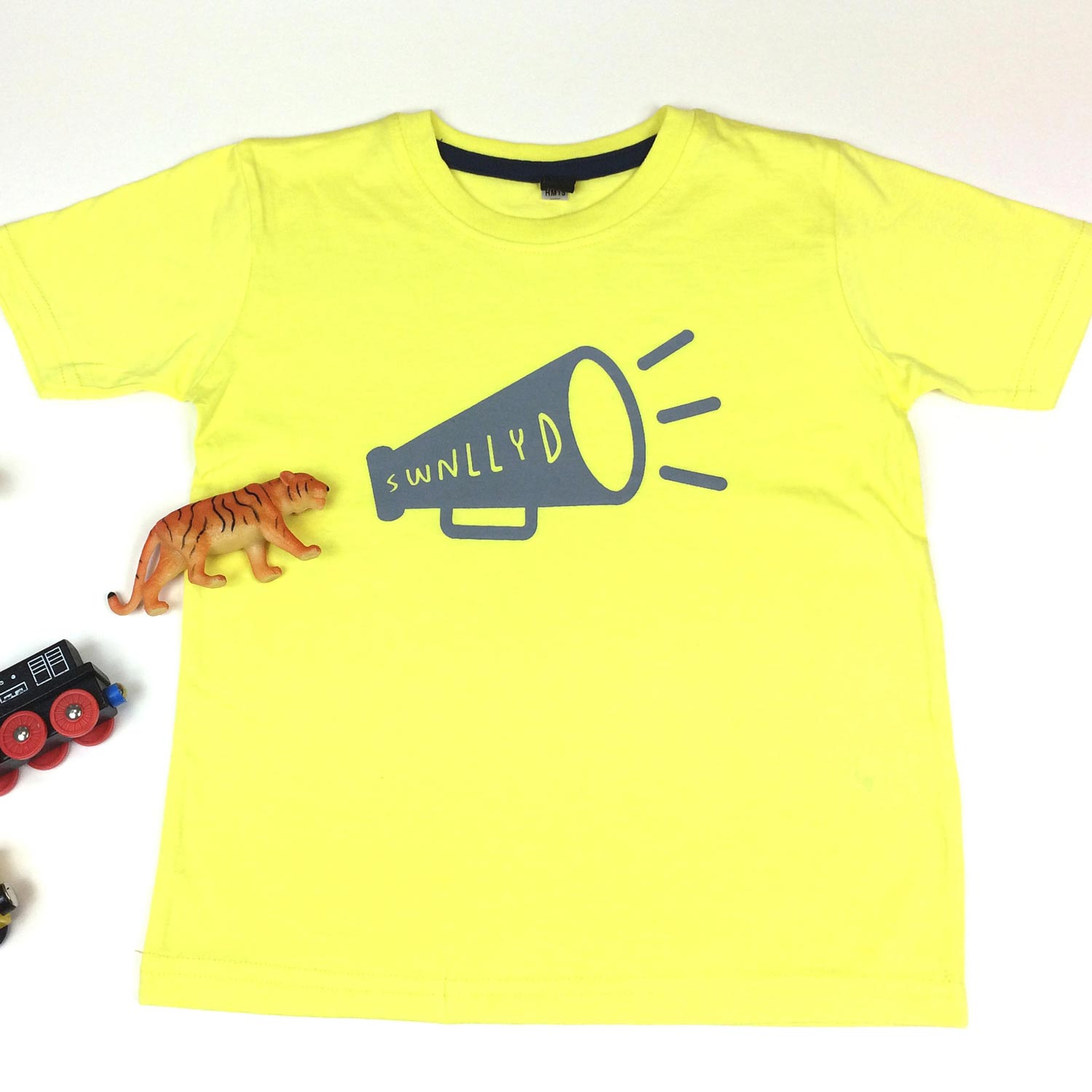 T-shirt - Toddler / Kids - Noisy - Swnllyd - Yellow